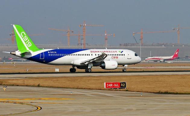 国产大型客机C919将首飞:突破技术封锁真正属于中国的照片 - 2