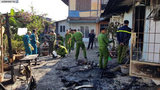 越南大叻一民居起火致5人死亡 疑似人为纵火案件