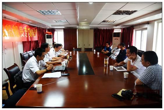 武汉金口海事处组织渡船船员开展应急演练