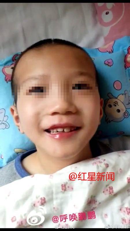 现在的鹏鹏在西安中医脑病医院接受康复训练及治疗