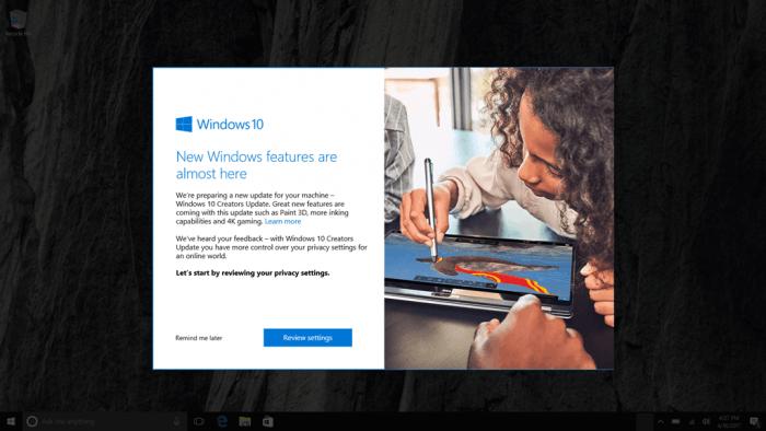 Windows 10创意者更新第一轮推送结束:你升了吗?的照片