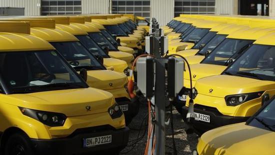 德国邮政公司(DHL)将使用新能源货车
