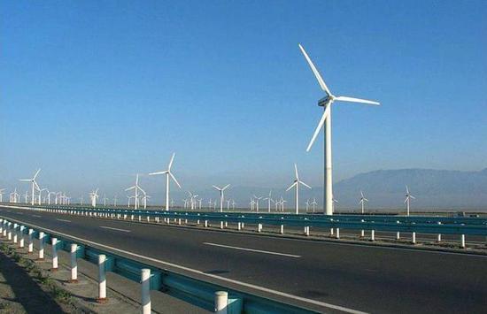 WIWAV雾海工业交换机助力瓜州风电建设