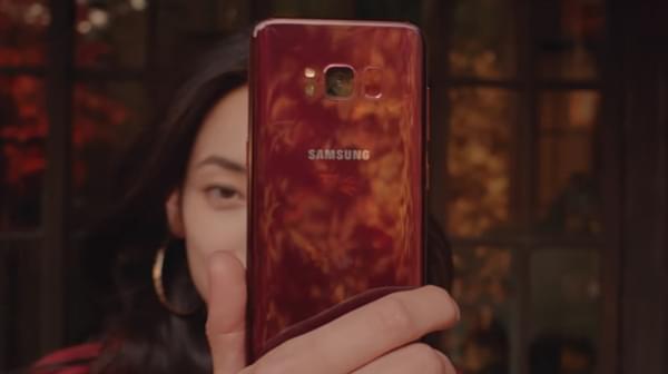 三星S8新配色曝光:应季枫叶红颜色纯正