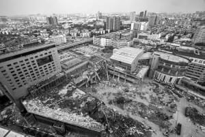 沙湾会展中心一期工程预计11月中旬拆除完毕