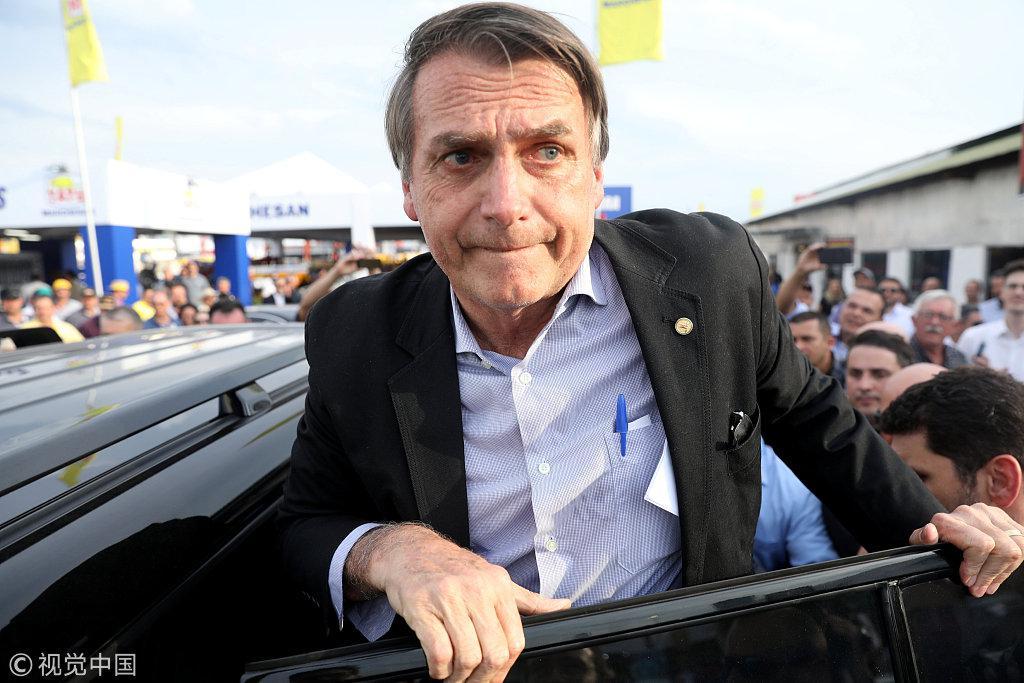 巴西总统候选人抛惊人言论:让警察有权杀死罪犯