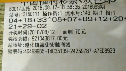 PK10官网唐山彩民中得2注双色球二等奖 选号方式曝光