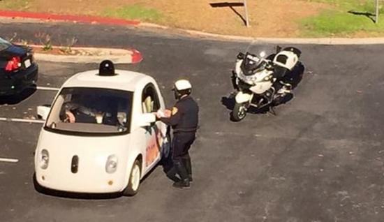 无人驾驶汽车被打脸 天天吃罚单!-第1张图片-零帕网