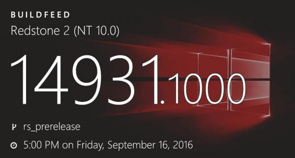Windows 10 Build 14931发布:多款核心应用更新的照片 - 1
