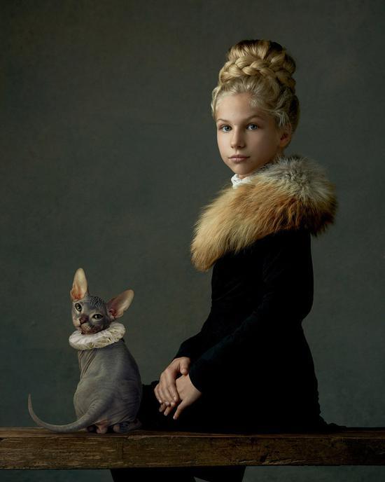 『摄影师』Gemmy Woud-Binnendijk:宛若古典名画般的人像作品