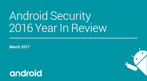 Google发布2016 Android系统安全回顾的照片 - 1