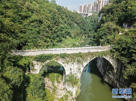 (新华全媒头条·图文互动)(2)从万桥飞架看中国奋斗——在贵州高高的山岗上