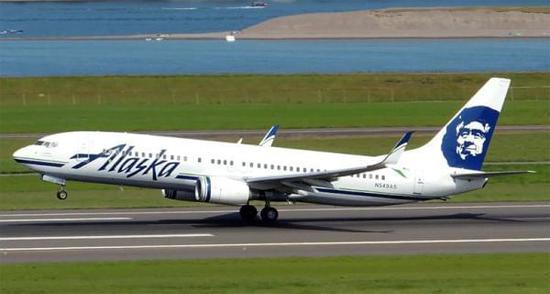 阿拉斯加航空公司飞机 资料图