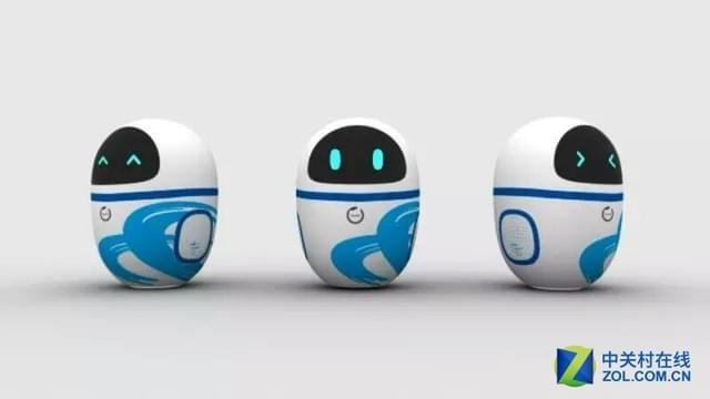 萌萌哒!WRC2016展会上的礼品机器人!