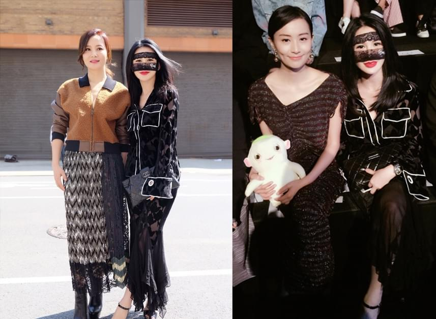 Dolphin sound queen BING debuted in New York Fashion Week masked styling sought after
