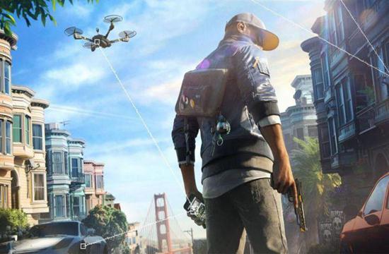 育碧游戏《看门狗2》官方截图