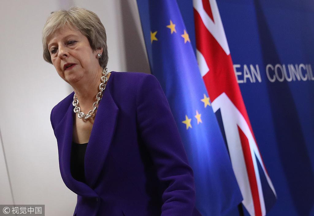 脱欧又双叒没谈拢!欧洲领导人撇下梅姨去喝酒