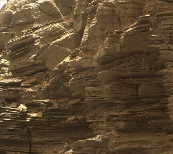 NASA公布好奇号漫游车拍摄的最新火星照片的照片 - 3