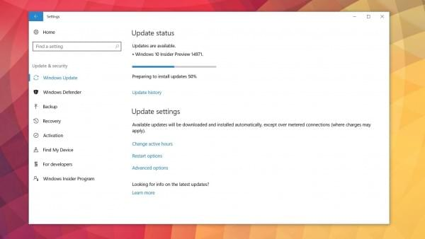 Windows 10新版14971推送:Edge支持epub电子书的照片 - 1