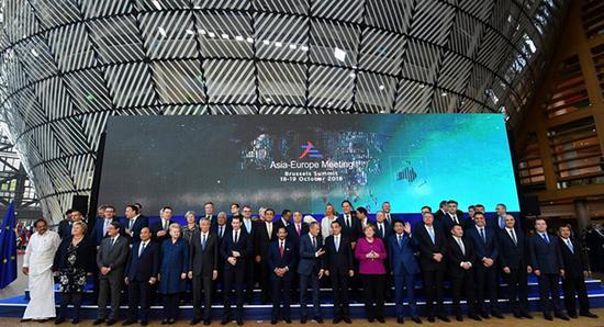 亚欧首脑会议闭幕 51个国家组团向美国发难