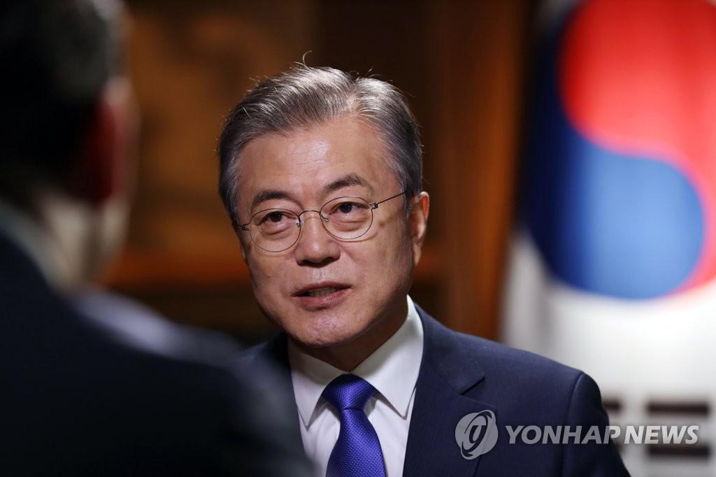 文在寅:即使朝韩统一 驻韩美军仍需要驻扎韩国