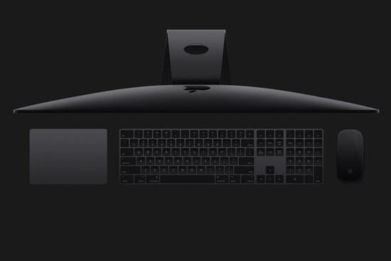 iMac Pro与深空灰版外设