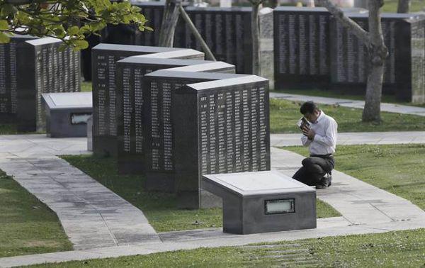 陆自演练奔袭1500公里 日防相悼念冲绳阵亡者