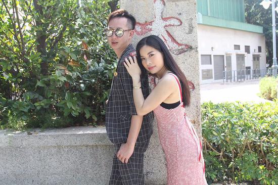 刘婷婷Coka赤柱拍MV 引外籍游客围观合影