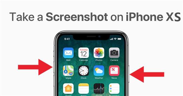 没有Home键的iPhone XS/XS Max如何截图?