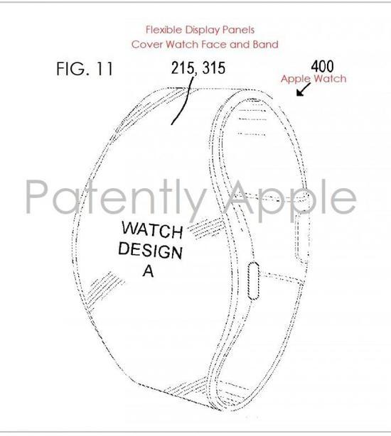 Apple Watch发大招:屏幕弯曲横跨表盘