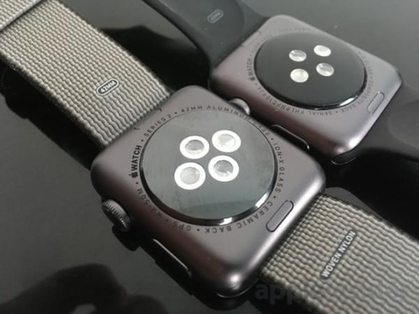 前后两代Apple Watch真机上手对比