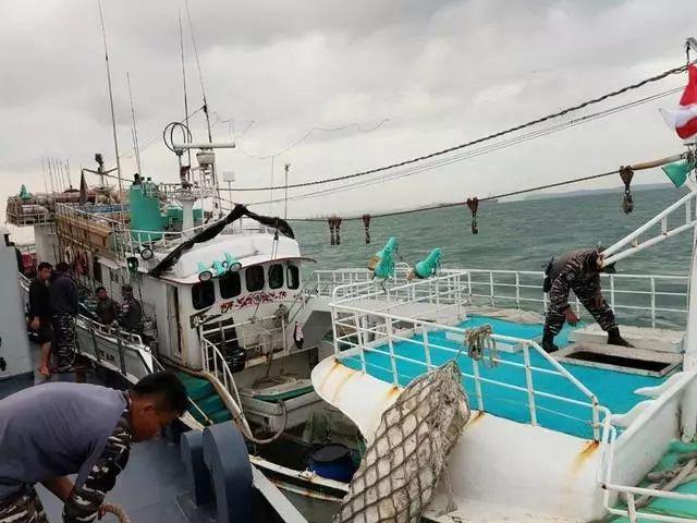 台湾渔船在印尼遭查获1000公斤毒品4名船员被捕