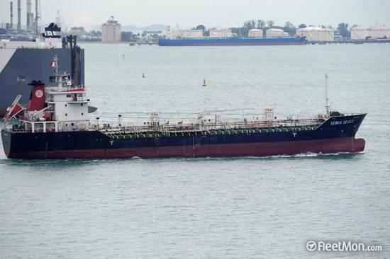韩媒:巴拿马运油船涉嫌向朝鲜偷运油品 被韩国扣查