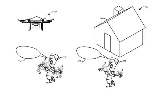 亚马逊无人机新专利:能看懂你的挥手 听懂你的喊话