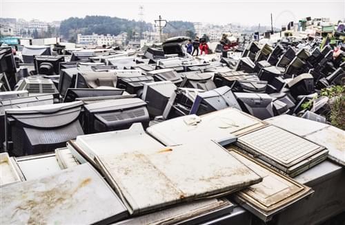 效率低下  国内电子垃圾回收亟待整合升级