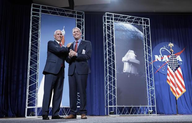 """美国为""""太空军""""计划立下小目标:建立月球永久基地"""
