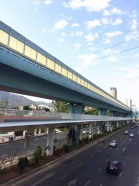 全国首条空中自行车道建成 全长7.6公里的照片 - 13