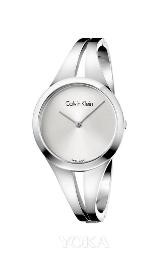 Calvin Klein addict 沉醉系列女士腕表 银色 RMB 1950