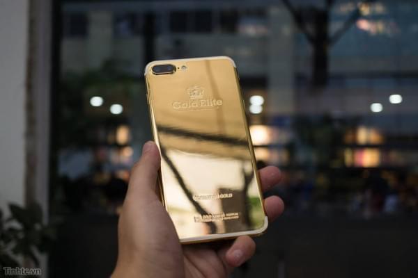 约5.5万 24K黄金iPhone7 Plus开箱图赏的照片 - 1