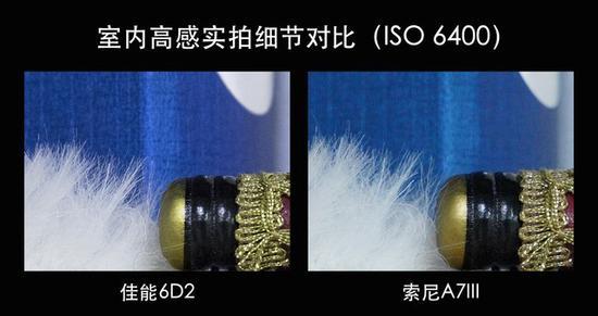 全幅高感对决 佳能6D2对比索尼A7III