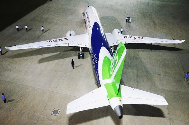 国产大型客机C919将首飞:突破技术封锁真正属于中国的照片 - 1