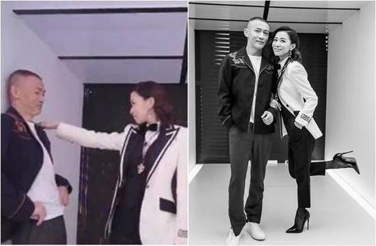 佘诗曼对聂远跳贴身舞魅力十足
