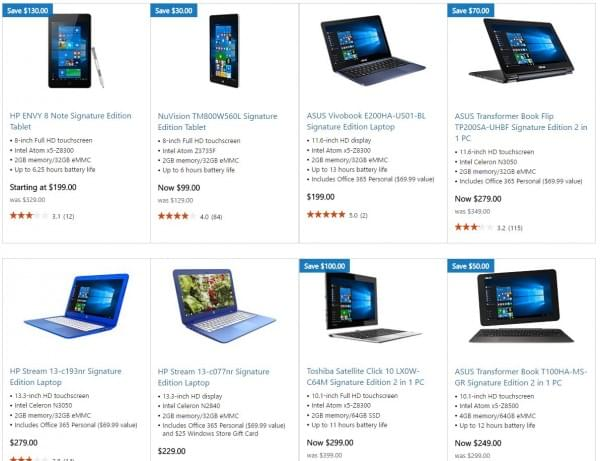 Linux事件后微软限时折扣Windows 10签名版PC的照片