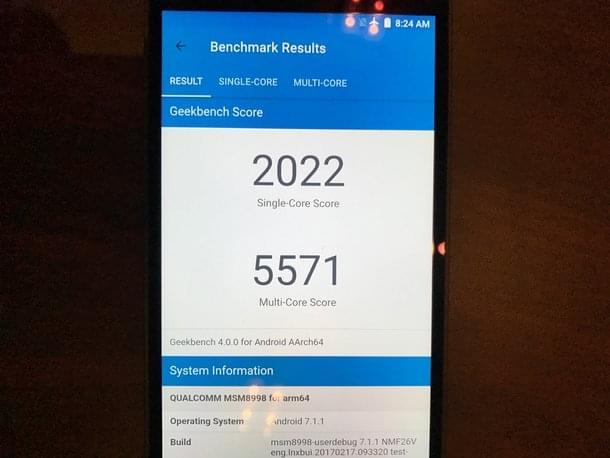 第一次赶上苹果的尾巴:骁龙835处理器跑分破18万的照片 - 9