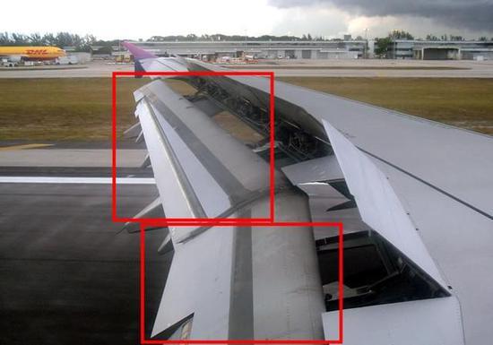 打賭你都見過 揭秘飛機機翼的神秘結構