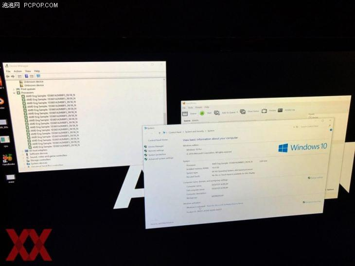 逆袭8核i7 AMD Ryzen实机主频冲上3.9GHz的照片 - 3