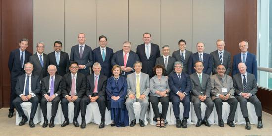 易纲出席国际清算银行亚太代表处成立20周年高级别研讨会