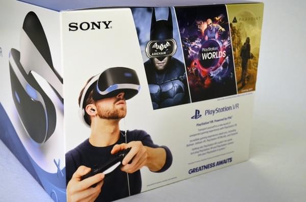 索尼PS VR零售版开箱 附赠这几款游戏大作的照片 - 2