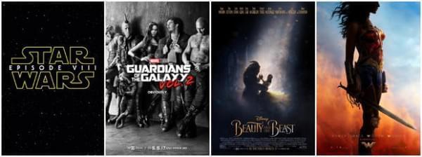 2017哪些北美电影最受期待?烂番茄公司列出TOP10
