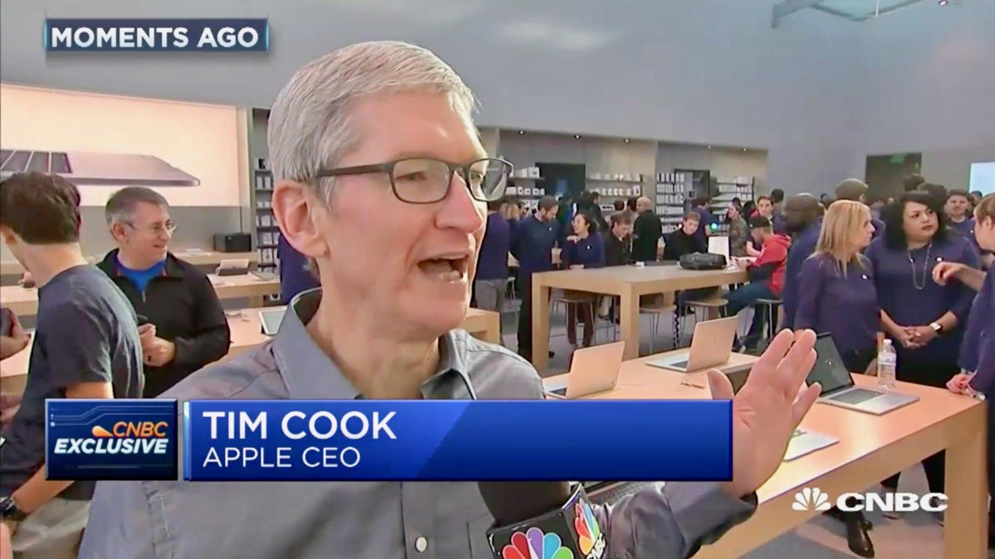 库克:对iPhone8发售状况满意